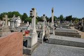 Frankreich, dem friedhof der evecquemont les yvelines — Stockfoto