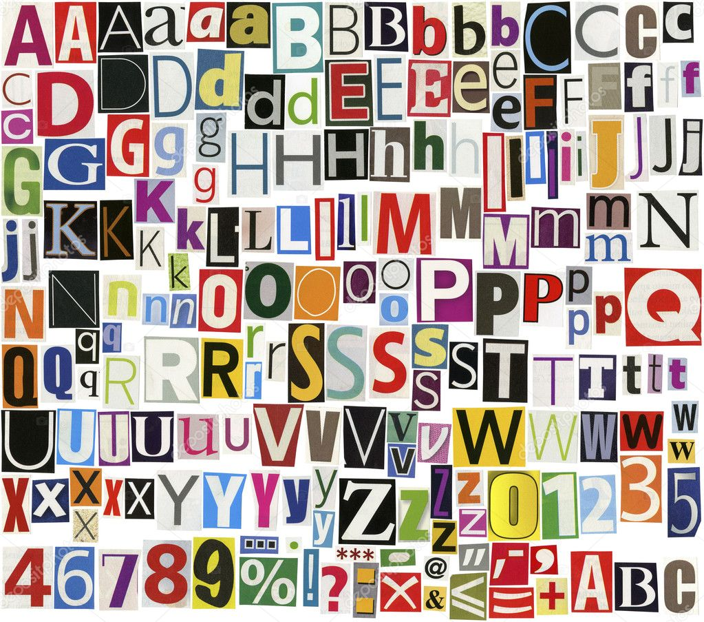 Magazine Letters Newspaper Related Keywords - Magazine Letters ...