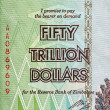 Stock Photo: Fifty Trillion Dollars