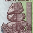 Zimbabwe note - Stock Photo