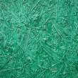 Royalty-Free Stock Photo: Plywood painted in green