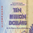 Ten Billion Dollars - Stock Photo