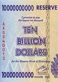 Ten Billion Dollars — Stock Photo