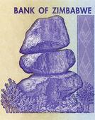 Zimbabwe note — Stock Photo