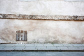 Aged street wall — Stock Photo