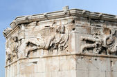 Tower of the Winds detail, Athens, Greece — Stock Photo