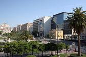Blick auf Panepistimiou Street, Athen, Griechenland — Stockfoto