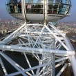 A view from London Eye I - Stock Photo
