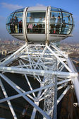 A view from London Eye I — Stock Photo