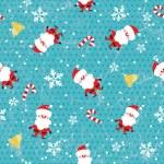 Seamless Christmas pattern — Stock Vector #11412838