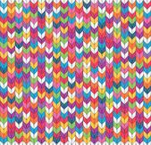 Fond tricoté sans couture — Vecteur