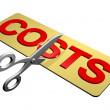 Stock Photo: Cutting Costs