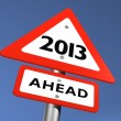Stock Photo: New Year Ahead