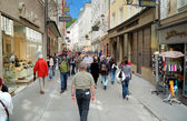 Getreidegasse — Stock Photo