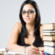Cute young student girl. — Stock Photo #12073812