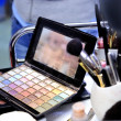 Makeup table — Stock Photo