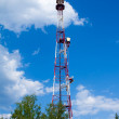 Communications Tower in sky — Stock Photo #10735276