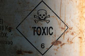 Toxic sign — Stock Photo