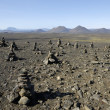 Volcanic landscape in Iceland. — Stock Photo #10785045