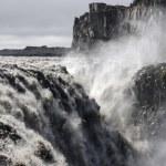 Dettifoss waterfall, Iceland. — Stock Photo