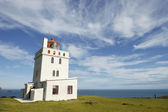 Dyrholaey lighthouse, Iceland — Stock Photo