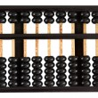 Abacus showing six — Stock Photo