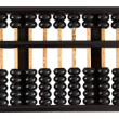 Stock Photo: Abacus showing six