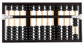 üç gösterilen abacus — Stok fotoğraf