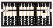 Abacus showing ten — Stock Photo