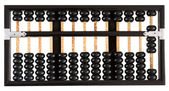 Abacus showing eight — Stock Photo