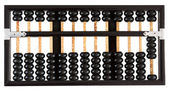 Abacus showing four — Stock Photo