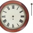 Antique Wall Clock — Stock Photo