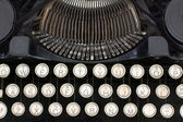 Typewriter close-ups — Stock Photo