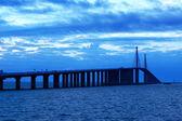 Sunshine Skyway Bridge — Stock Photo