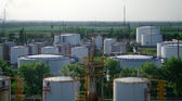Big chemical tank — Stock Photo
