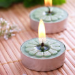 Spa Candles — Stock Photo