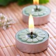 Spa Candles — Foto de Stock