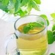 Foto Stock: Mint tea