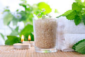 Bath salt — Stockfoto
