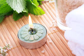 Spa Candle — Stockfoto