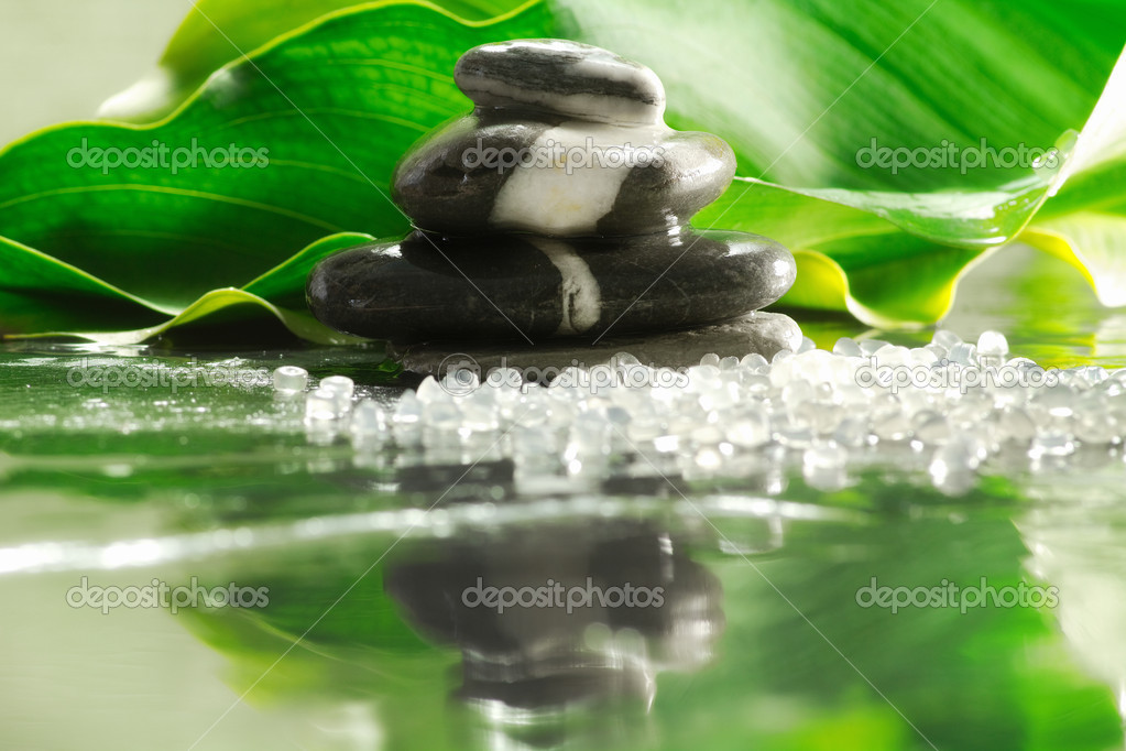 Spa and relax concept with natural elements — Stock Photo #10796783