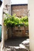 Grado, historical village — Stock Photo