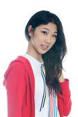 Portrait of Asian girl — Stock Photo
