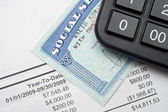 Social security — Stock Photo