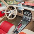 Chevrolet Corvette interior — Stock Photo