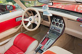 Chevrolet Corvette interior — Stock Photo