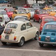 Vintage Fiat 500 rally — Stock Photo