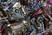 Shiny bikes — Stock Photo