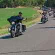 Постер, плакат: Bikers riding Harley Davidson