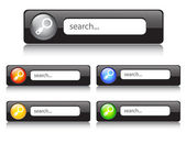 Search button. vector — Stock Vector